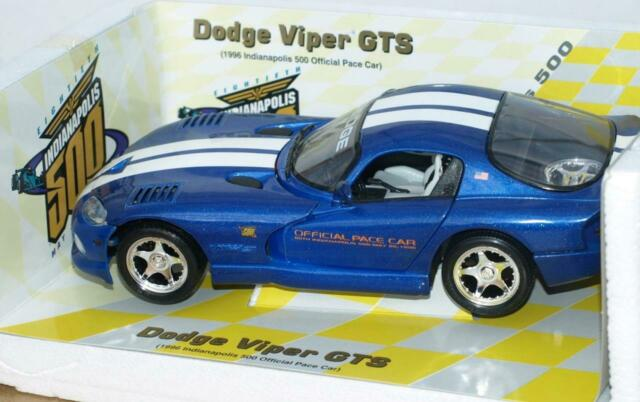 1996 Dodge Viper GTS Indy 500 Pace Car 1/18 by Maisto - Original Box & Packaging