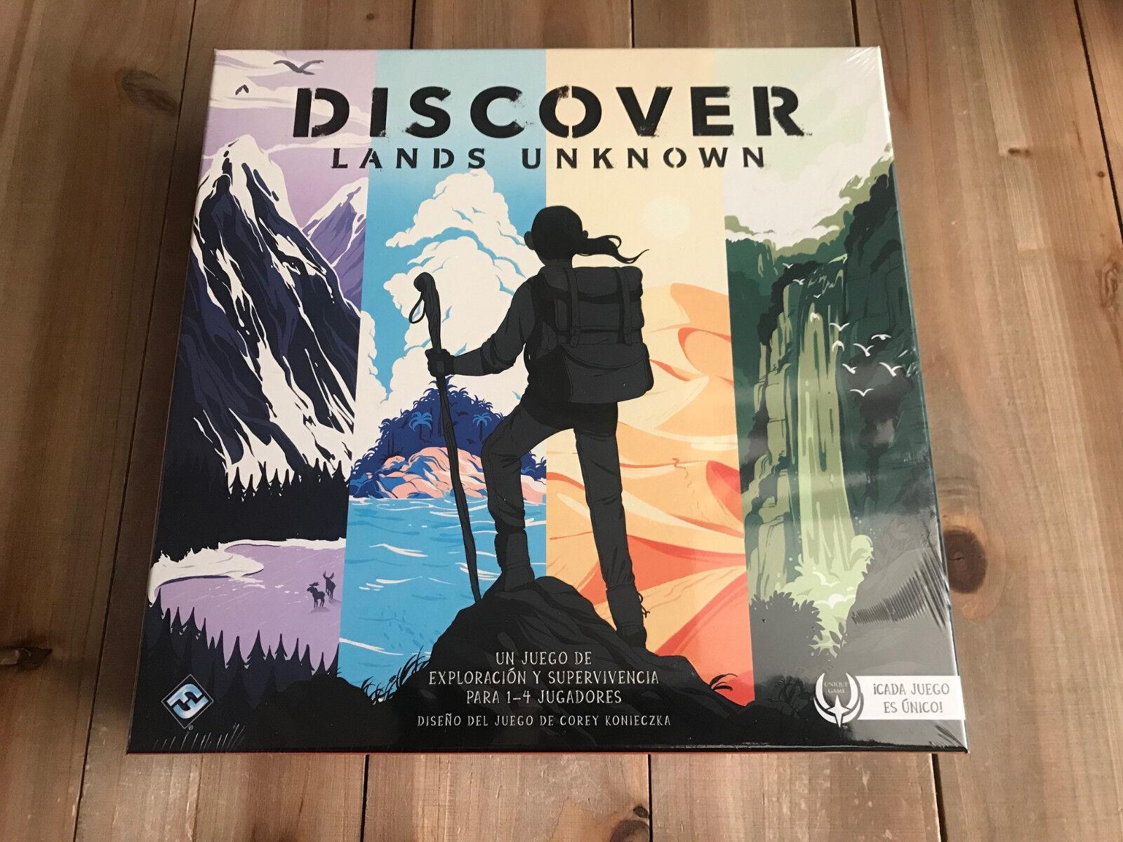 Set tabelle entdecken unbekannten landen - fantasy flight games - pro spiel