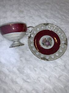 Vintage-Gold-Rimmed-Cup-And-Saucer-Made-In-Japan