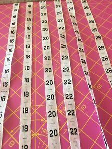 Plus Taille 16 -26 Sew In-sewn 100% Coton Taille étiquettes-professionnel étiquettes --afficher Le Titre D'origine Belle Qualité