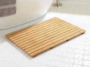 Image Is Loading Bamboo Bath Duck Board Shower Mat Bathroom