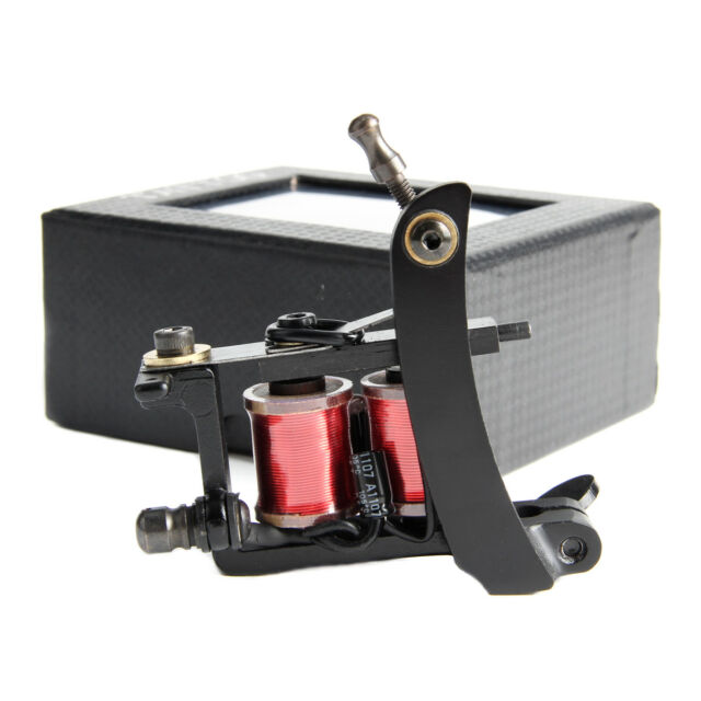 Buy Pro Steel Tattoo Coil Machines 10 Wrap 28mm Coils Tattoo Machine ...