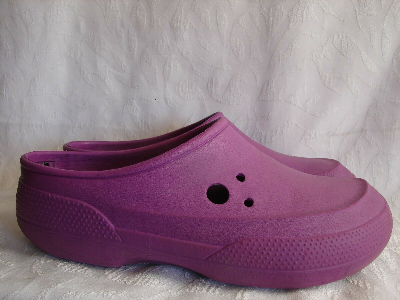 Clog Removable Fleece Lined Shoes Khaki