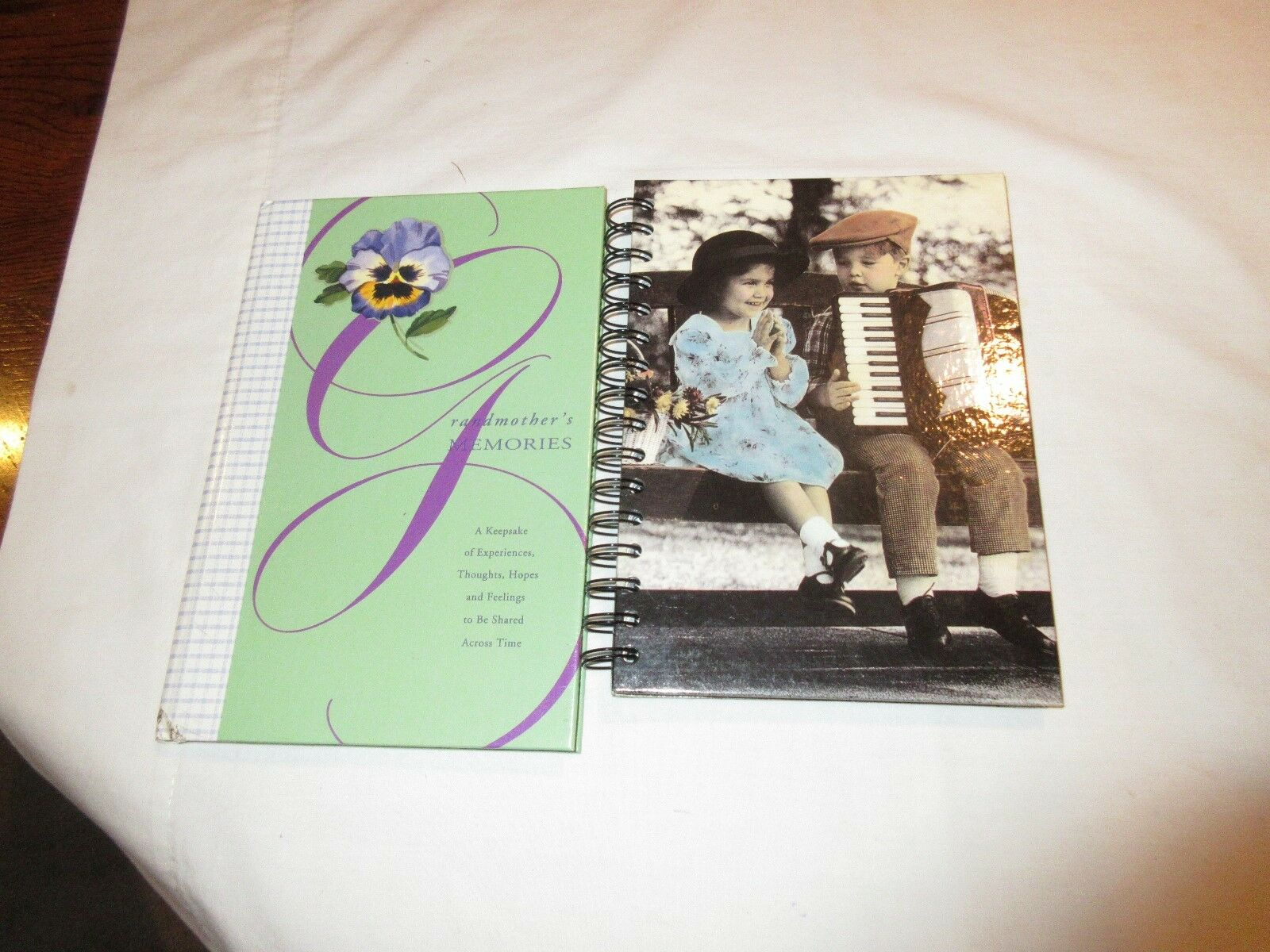 Journals, 2 Kids On Cover and Granmother's Memories