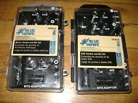 Blue Hawk 1/4 24 Pc. Std. & 24 Pc. Metric Socket /bit Set W/quick Rel. Ratchet