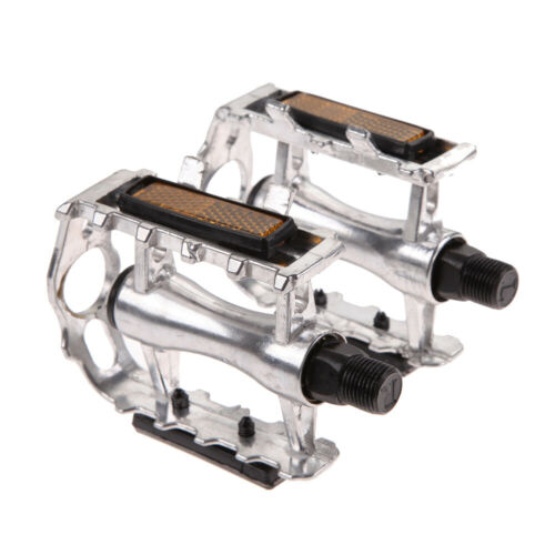 "1 Pair BMX MTB Aluminium Alloy Mountain Bicycle Cycling 9//16/"" Pedals Flat"
