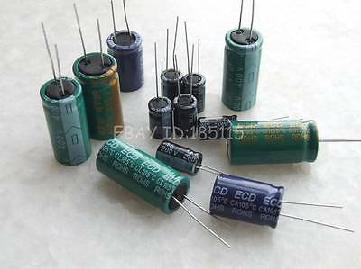 20PCS 35V 47uF 35Volt 47MFD Electrolytic Capacitor 5×11 Radial