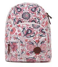 WOMEN'S GIRLS ROXY HARMONY FLORAL BACKPACK MULTI LOGO  SCHOOL BAG NEW $55