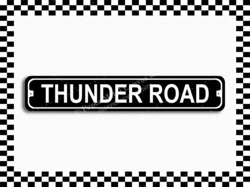 SA-1425 Thunder Road Street Sign 3x18 Metal Plaque