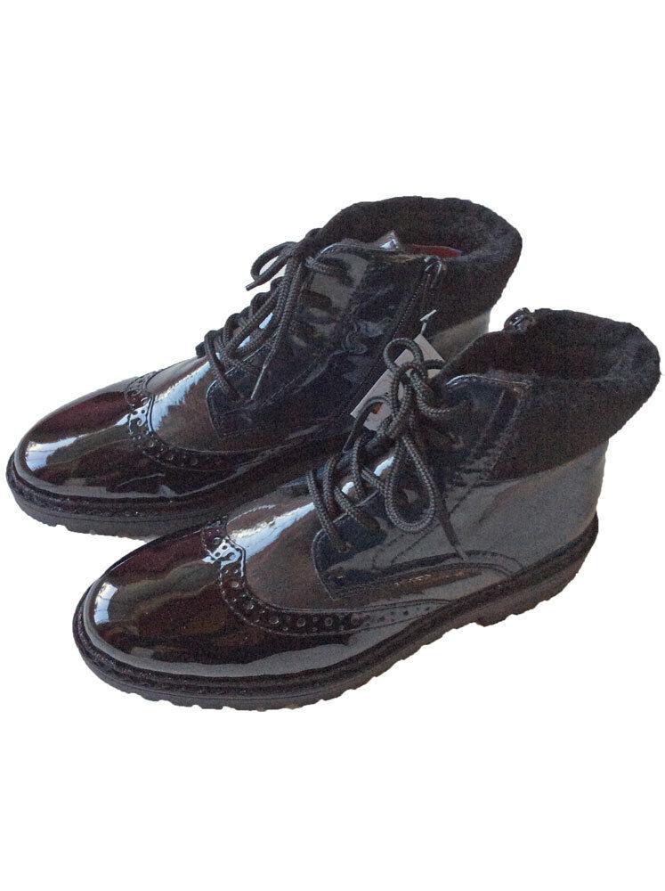 60064fc0ff7b ... Rieker Stiefelette Schnürstiefel Damen Boot Stiefel Schw Blau Grau  Damen Schnürstiefel Schuhe 181362 f2e767 ...
