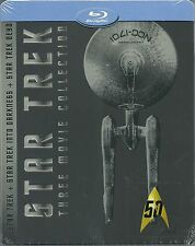 Star Trek Three Movie Collection Blu-ray Steelbook Limited Edition Neu OVP It. I