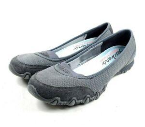 Reunión Etna Pelmel  Skechers Grey Elastic Slip On Womens Size 9 Shoes | eBay