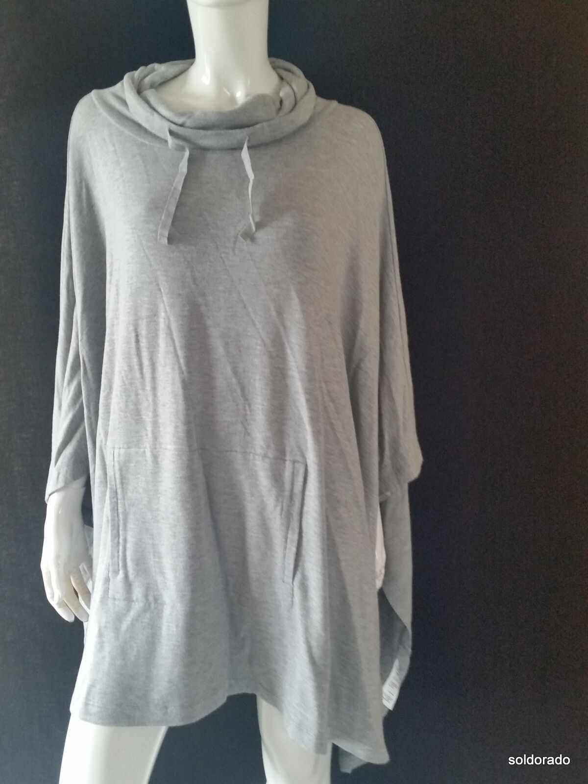 Marc o ´ Polo Poncho Donna TG. S M Light Carbone Nuovo