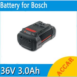 battery for bosch 36v li ion 3 0ah heavyduty rotak 34 37 43 lawn mower d 70771au ebay. Black Bedroom Furniture Sets. Home Design Ideas