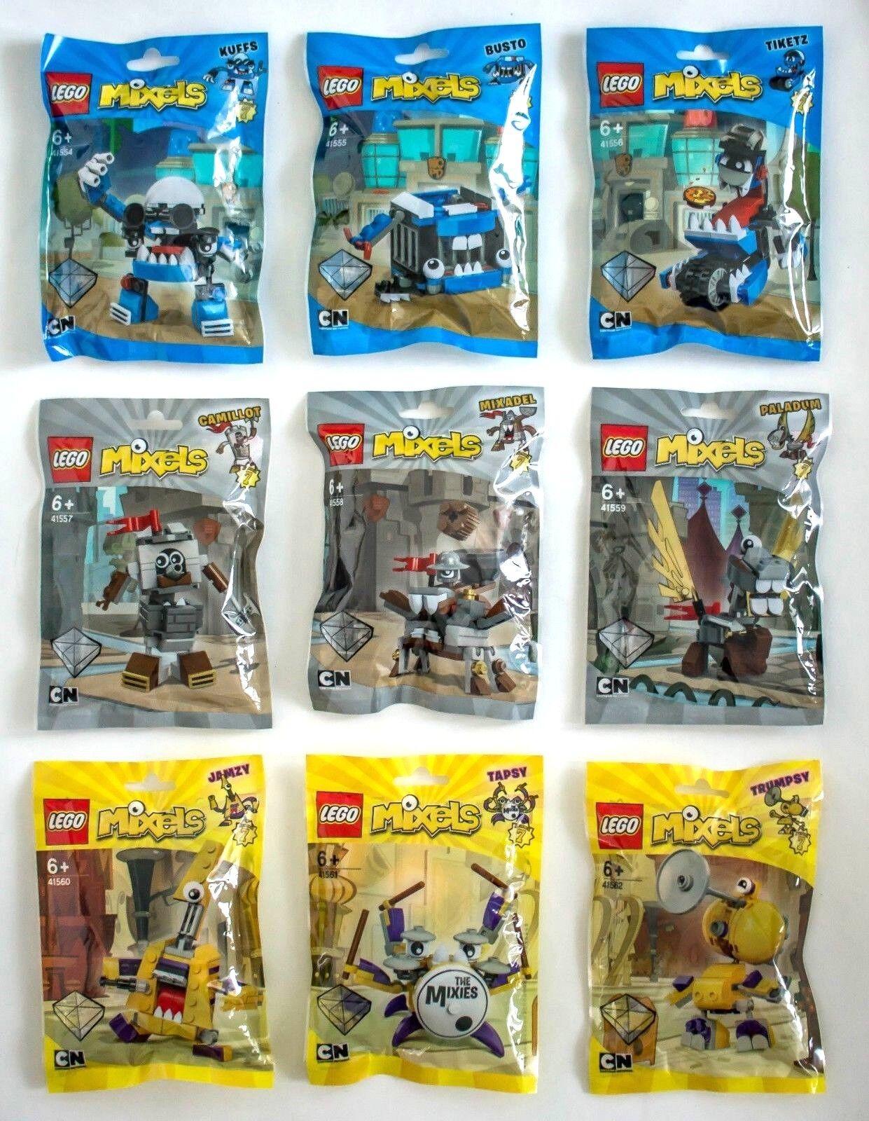 LEGO Mixels Serie 7 - 41554 41555 41556 41557 41558 41559 41560 41561 41562 NEU