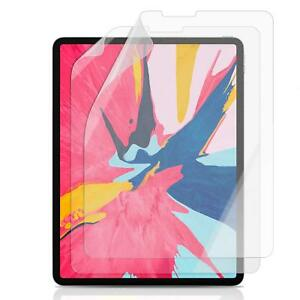 Matte For iPad Pro 3rd 12.9/'/' 2018 Face ID Precise Cut Out Screen Protector Film