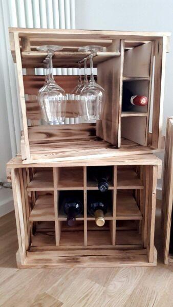 Bar, Weinregal, Küchenregal, Dekoration, Weihnachtsgeschenk, Gläserschrank, Glas Profitieren Sie Klein