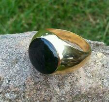 Herren Ring Goldring Siegel Geschenk 19,  20,  21mm Herrenschmuck vergoldet NEU