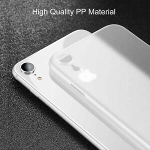 newest 1c63d 906b6 Details about For iPhone XS Max XR X Ultra-thin Slim Luxury Matte Clear  Hard Back Case Cover