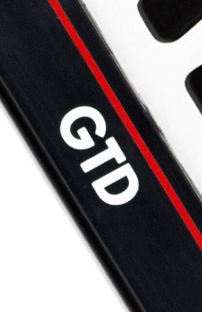 Volkswagen GTI Chrome License Plate Frame Caps