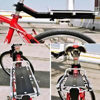 Back Rear Rack Alloy Bike Bicycle Seat Post Frame Carrier Holder Cargo Racks Hot
