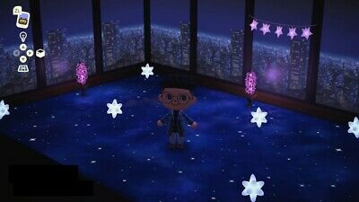 Animal Crossing New Horizons Package Galaxy Floor Cityscape