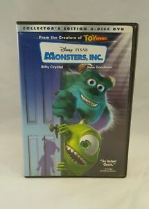 Disney Pixar Monsters, Inc 2-Disc Set DVD Collectors ...