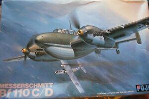 +++ Messerschmitt Bf 110c/d + 1:48 Scale Kit Par Fujimi +++-afficher Le Titre D'origine