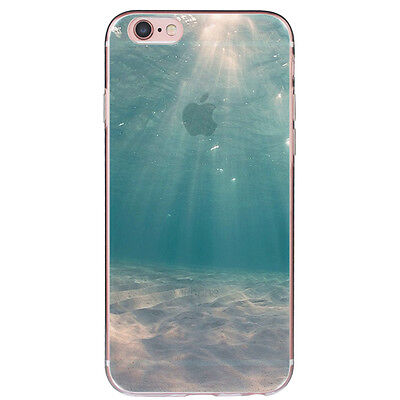 Transparente TPU Gel Silicona Carcasa Funda Case Cover For iPhone SE 5s 6 6s 7