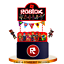 ROBLOX-CUPCAKE-CAKE-TOPPER-party-NAPKIN-balloon-SUPPLIES-decorations-toppers-CUP thumbnail 13
