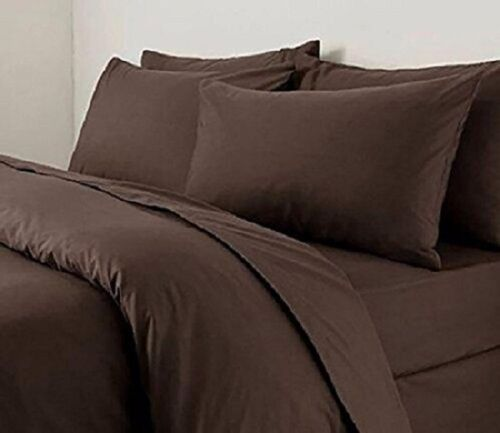 QUALITY NON IRON Poly Cotton DUVET COVER SET PILLOWCASE OR DEEP FITTED SHEET