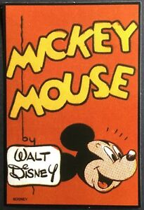 Mickey Mouse Vintage Disney Stickers Mint Condition!!