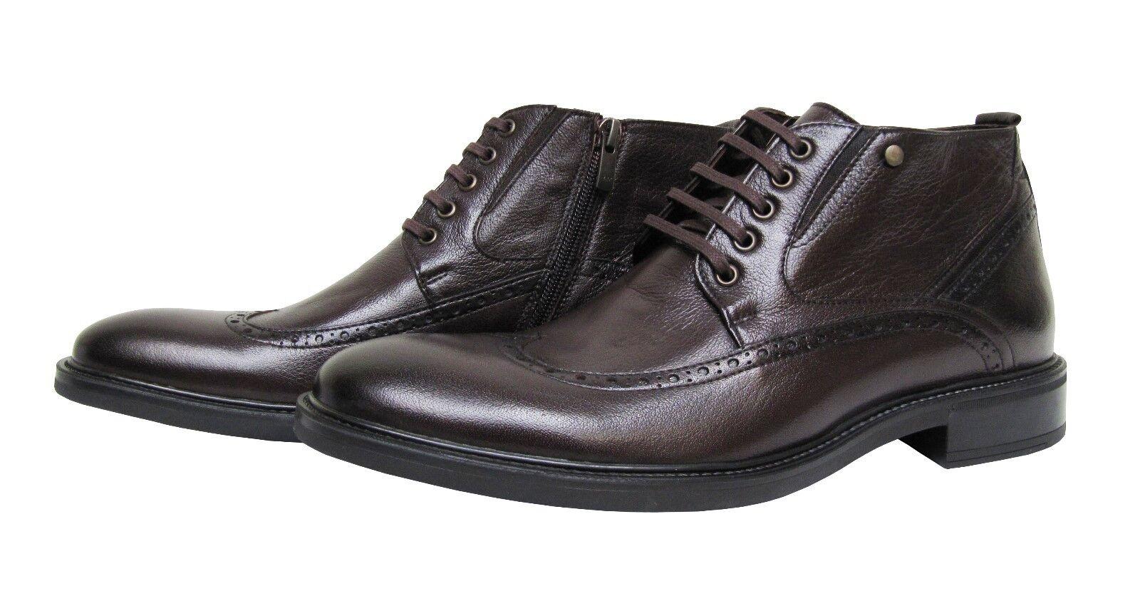 Billig gute Qualität Herren Stiefeletten Leder Leder Leder Muga*1280*Gr.46 Braun 76c5ed