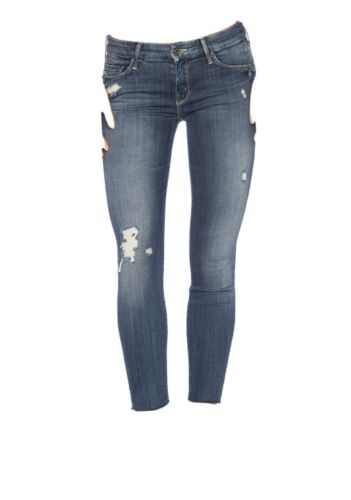 Mother The Looker Ankle Fray In Alley Cat Size 25