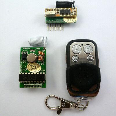 DIY 4 Channels Wireless Wall Panel Switch RF Remote Control Handy  MCU Arduino