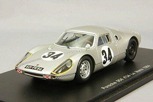 Porsche 904 #34 7th Lm 1964 Bucher / Ligier 1:43 Model S3440 SPARK MODEL