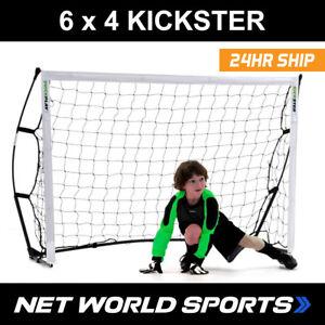Doux Kickster 6 X 4 But De Foot | Portable Rapide Assembler Junior But De Foot-afficher Le Titre D'origine Emballage De Marque NomméE