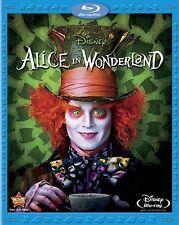Alice in Wonderland  DVD Blu-ray Mia Wasikowska, Johnny Depp, Helena Bonham Cart