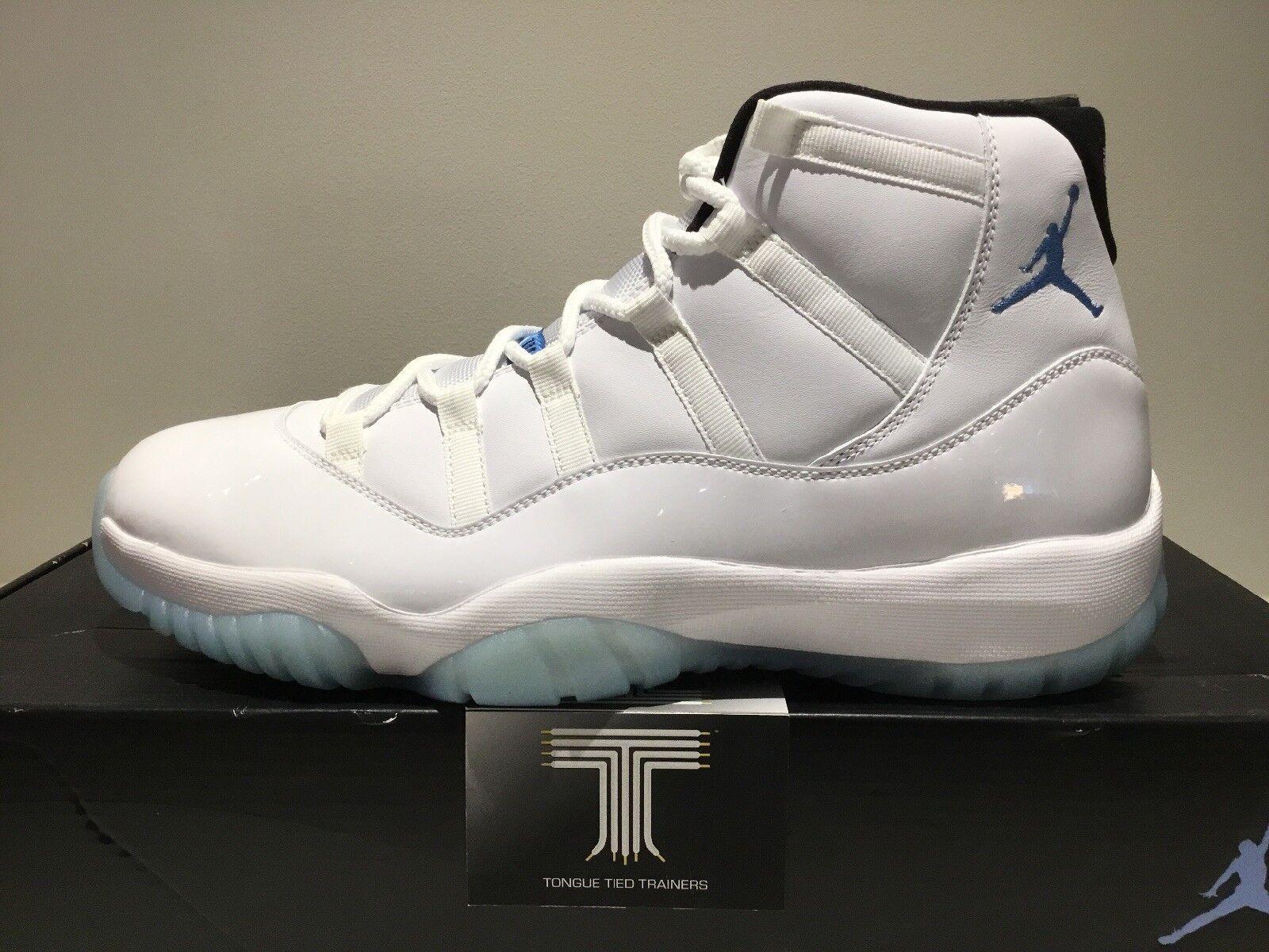 Nike Air Jordan 11 Retro Legend Bleu ~ 378037 117 ~ Uk