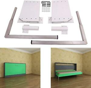 Details About Diy Murphy Wall Bed Springs Mechanism Hardware Kit Horizontal Wall Bed Mounting
