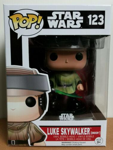 Funko POP STAR WARS #123 Luke SKYWALKER ENDOR VINILE BOBBLE-HEAD