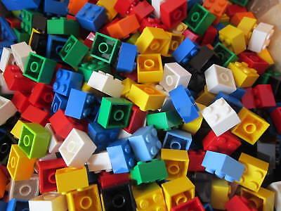 Lego ONE HUNDRED Standard Bricks Size 2x2x2 --100 total Square Bricks