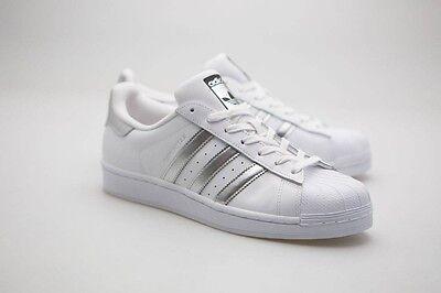 Adidas Women Superstar white silver