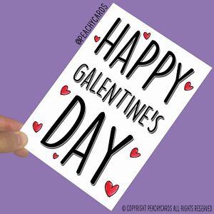 Funny Valentine S Day Cards Happy Galentine S Day Best Friend Bestie Gift Pc696 Ebay