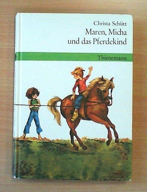 Maren, Micha und das Pferdekind - Christa Schütt (Nur drin geblättert)
