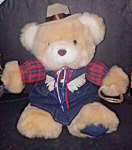 TEDDY PRECIOUS BEAR. 14 IN. TALL