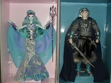 FANTASY FARAWAY FOREST WATER SPRITE BARBIE MERMAID AND KING OF THE CRYSTAL CAVES