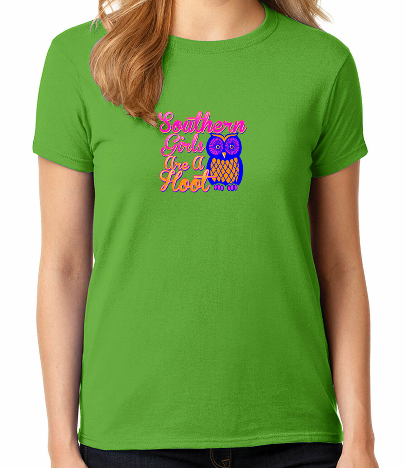 Southern Girls Are A Hoot Owl South Pride Funny Beater Tank Top