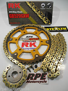 ZX6R NINJA /'05-06 SUPERSPROX GOLD DID 525 QUICK ACCEL CHAIN AND SPROCKETS KIT