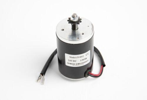 Speed Controller /& Twist Throttle DIY 24V 150W MY6812 Electric Motor w Sprocket